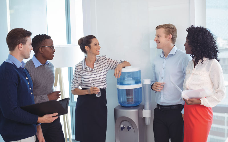Image result for watercooler workplace